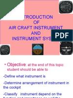 Instrument Presentaion