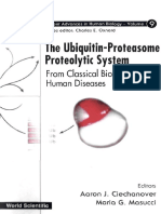 The Ubiquitin-Proteasome Proteolytic System From Classical Biochemistry to Human Diseases