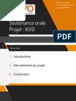 Soutenance Orale Projet - XiVO