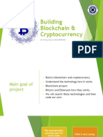 Building a Blockchain and a Cryptocurrency