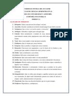 DEBER N.- 2 Glosario