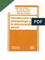 Capitulo 2 -Introducción a La Antropologia Para La Intervencion Social