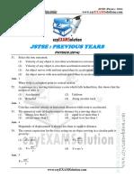 JSTSE Physics 2014 Ezyexamsolution.com