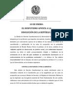 Pronunciamiento de profesores de la Cátedra de Derecho de la UCV en relación al 10 de enero de 2019
