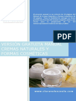 Clara Valenzuela Version Gratuita Manual Cremas Naturales Formas Cosmeticas 1