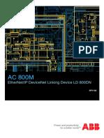 3BSE059754R0001 - En AC 800M 5.1 Ethernet IP DeviceNet Linking Device LD 800DN