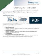 Blue Prism Data Sheet - Infrastructure Overview v5.0 NHS Edition