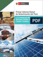 Primer Informe Bienal de Actualización