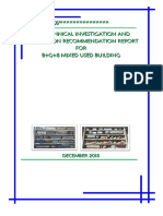 Sample Soil Investigation Report