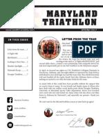 maryland triathlon newsletter
