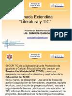 Jornada Extendida _literatura y Tic
