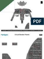 Falcon 20 Panel Art