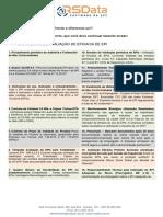 EPI 18 Critérios de Avaliação