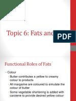 Topic 6 Fat