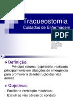 Traqueostomia - cuidados de enfermagem