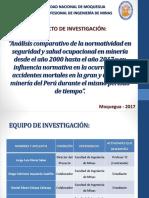 Proyecto de Investigacion MINEROSUR