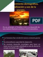 5.1 Crecimiento Demográfico, Industrialización y Uso de La Energía