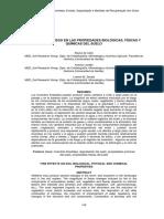 Efectos Del Fuego en Las Propiedades Biológicas Fisicas y Quimicas Del Suelo