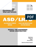 ASD-LRFD for Wood Construction (Provisions for Wind and Seismic)