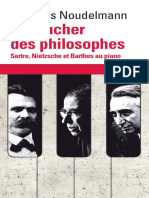 Le Toucher Des Philosophes Sartre Nietzsche Et Barthes Au Piano