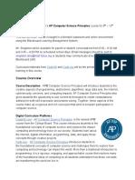 ap cs p communication structure