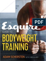 Adam Schersten - The Esquire Guide to Bodyweight Training_ Calisthenics to Look and Feel Your Best From the Boardroom to the Bedroom (0, 2016)