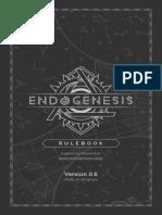 Endogenesis Manual de juego