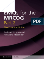 EMQs for the MRCOG Part 2-The Essential Guide