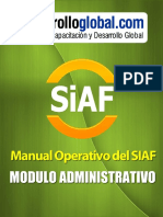 Manual Operativo ADM- siaf
