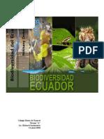 Biodiversidad Del Ecuador