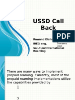 USSD Call Back