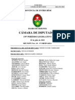 DIARIO DE SESIONES CÁMARA DE DIPUTADOS 139º PERÍODO LEGISLATIVO