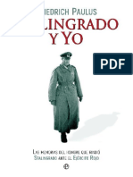 Paulus Friedrich Stalingrado Y Yo