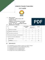 Syllabus Ceg Dominical II 2018