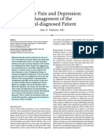 Cancer Pain and Depression Management of the Dual-diagnosed Patient