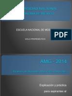 AMG Demo (FaM) propedeutivo