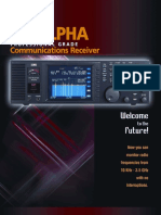 Alpha Deluxe Commercial HF radio with SDR