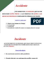 Curso Relacion de Costos de Los Accidentes