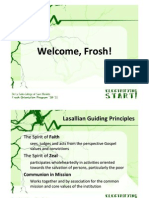 2010 Frosh Orientation Program