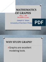 Elective 4 the Mathematics of Graphs