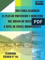 Guia Para Prevencion y Gestion de Riesgos de Desastres Em Cuenca Hidrografica