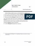 2018 YR 5 PAT 013 Pemahaman Section A