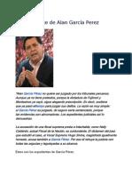 El Expediente de Alan García Perez