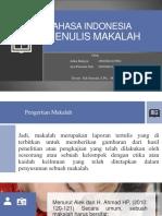 Bahasa Indonesia Menulis Makalah