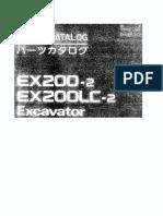 Hitachi EX200 2 PARTS MANAL