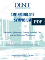 DENT Neurologic CME 2018 Program