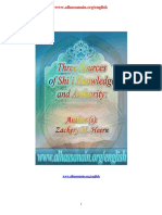 Three Sources of Shii Knowledge and Authority