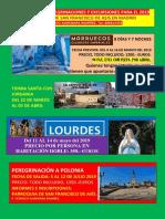 Programa de Peregrinaciones y Excursiones Para El 2019