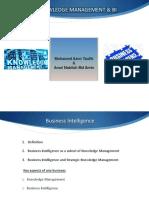 knowledgemanagementandbusinessintelligence-131205202446-phpapp01