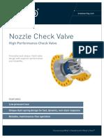 Grayloc Nozzle Check Valve A4